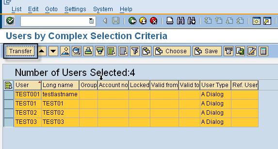 SU10 - User List