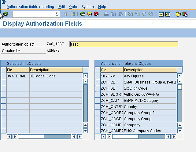 RSSM - Create Reporting Authorizations