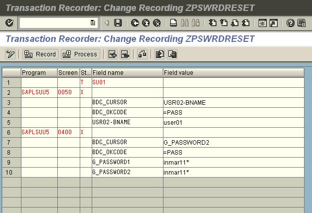 SHDB - View Recording