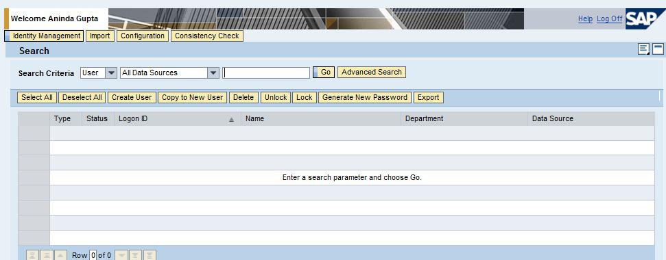 Identity Management - Standalone Application