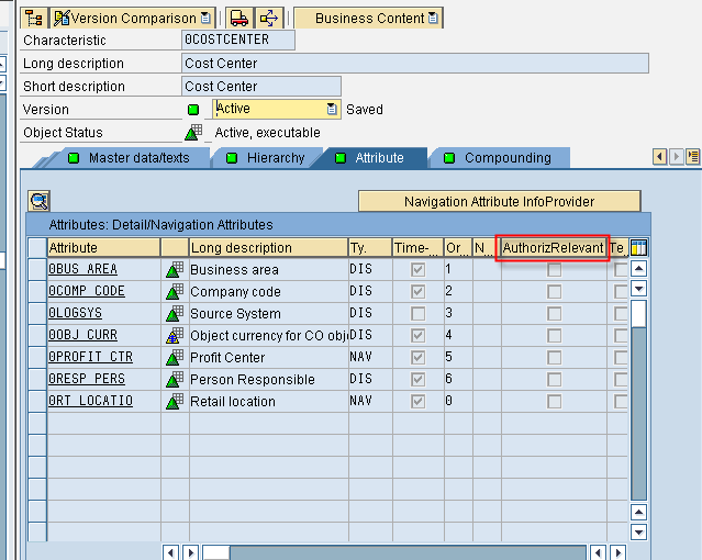 Administrator Workbench – RSA1 – Sap Security Pages